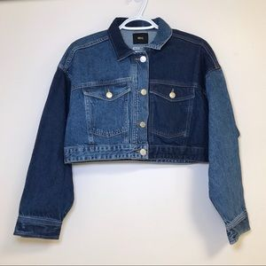 NWT BDG Urban Outfitters Cropped Denim Jacket XS
